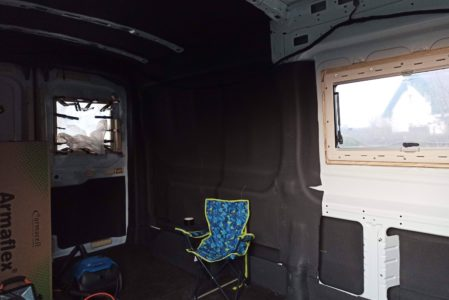 Rahmen für zweites Fenster