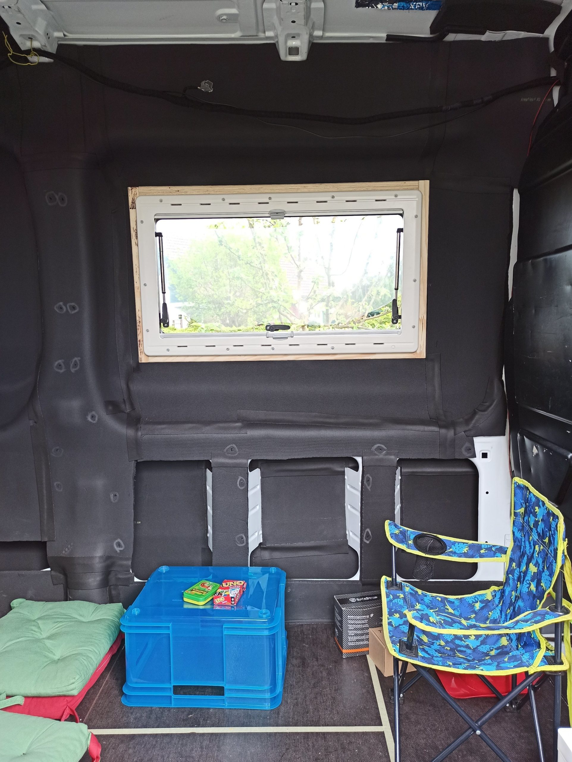 Armaflex Hecktüren und Seitenfenster