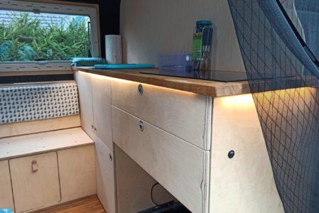 Dekolicht Küche und ein paar Steckdosen mehr